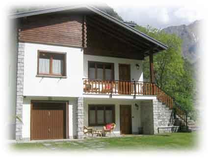 Casa vacanze in antrona schieranco villa egle for La casa di montagna progetta il colorado